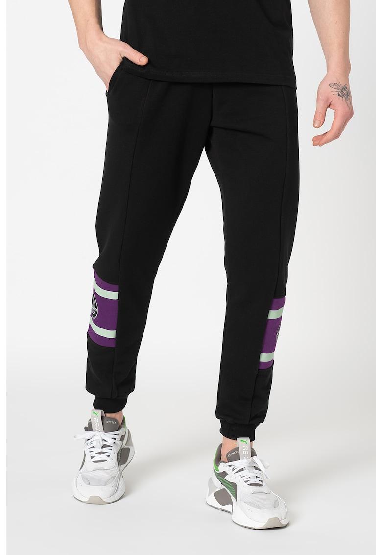 Pantaloni sport regular fit cu snur Arizona imagine