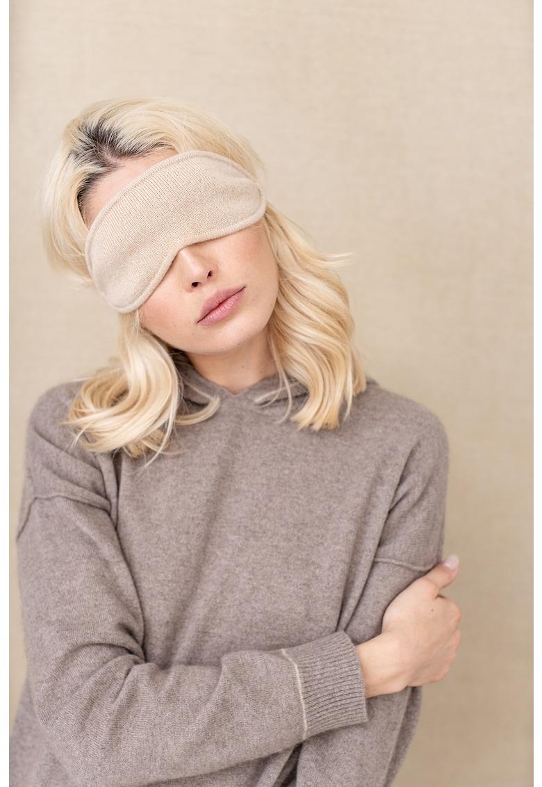 Masca unisex din casmir sustenabil pentru somn imagine promotie