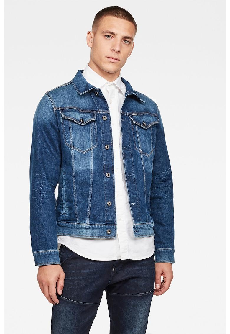 Jacheta slim fit din denim 3301