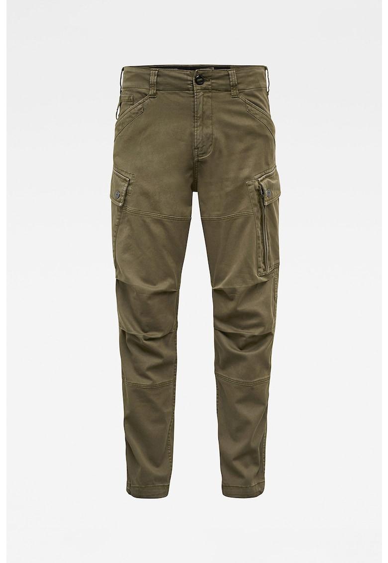 Pantaloni cargo cu croiala dreapta Roxic