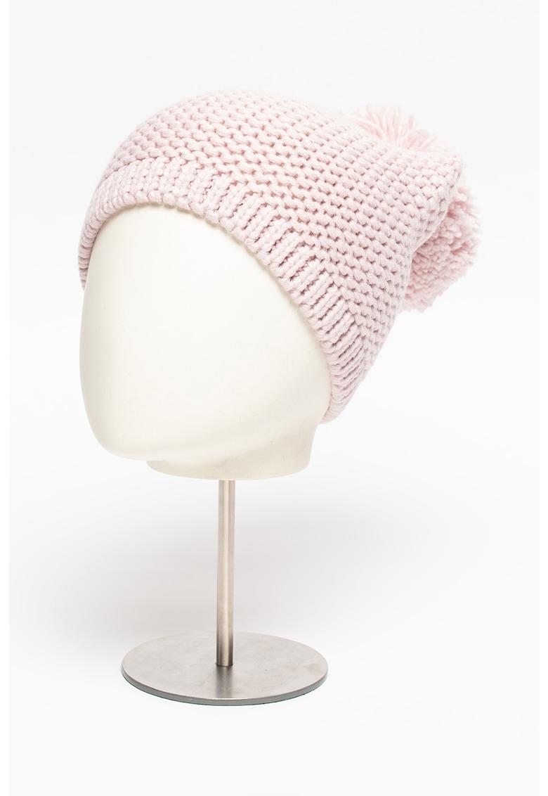 Caciula din amestec de lana cu ciucure imagine promotie
