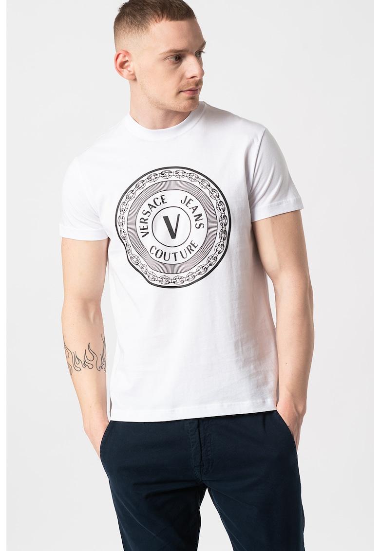 Tricou slim fit cu imprimeu logo T.Mouse 68 Bărbați imagine