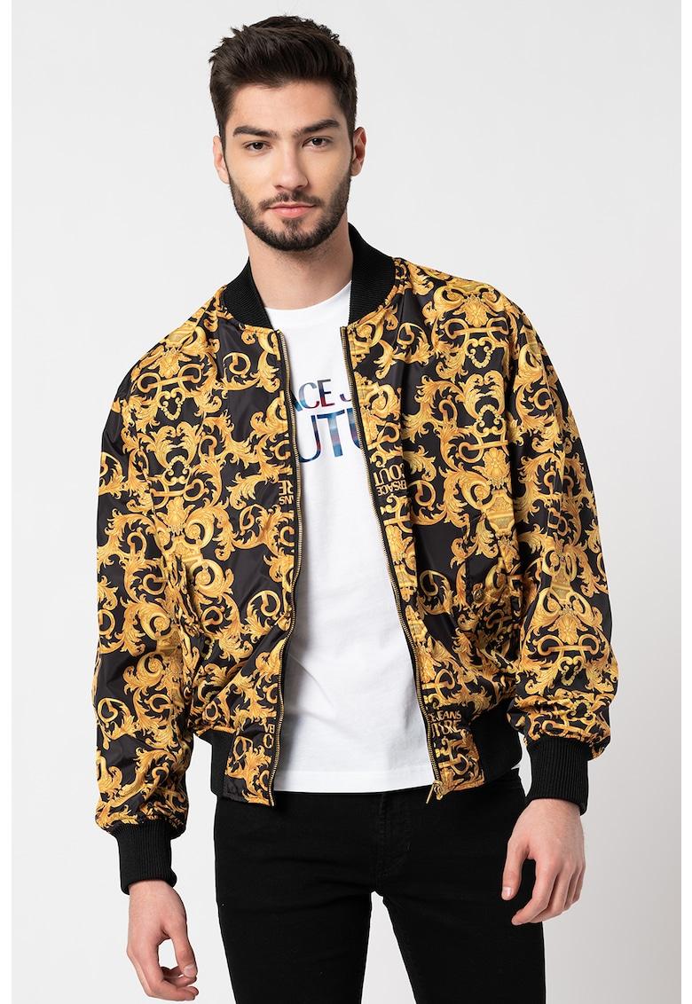 Jacheta reversibila cu imprimeu