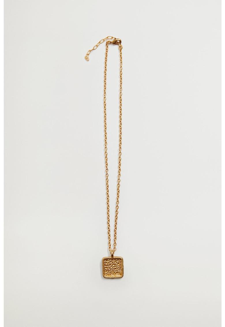 Colier placat cu aur de 24K - cu pandantiv Moira imagine promotie