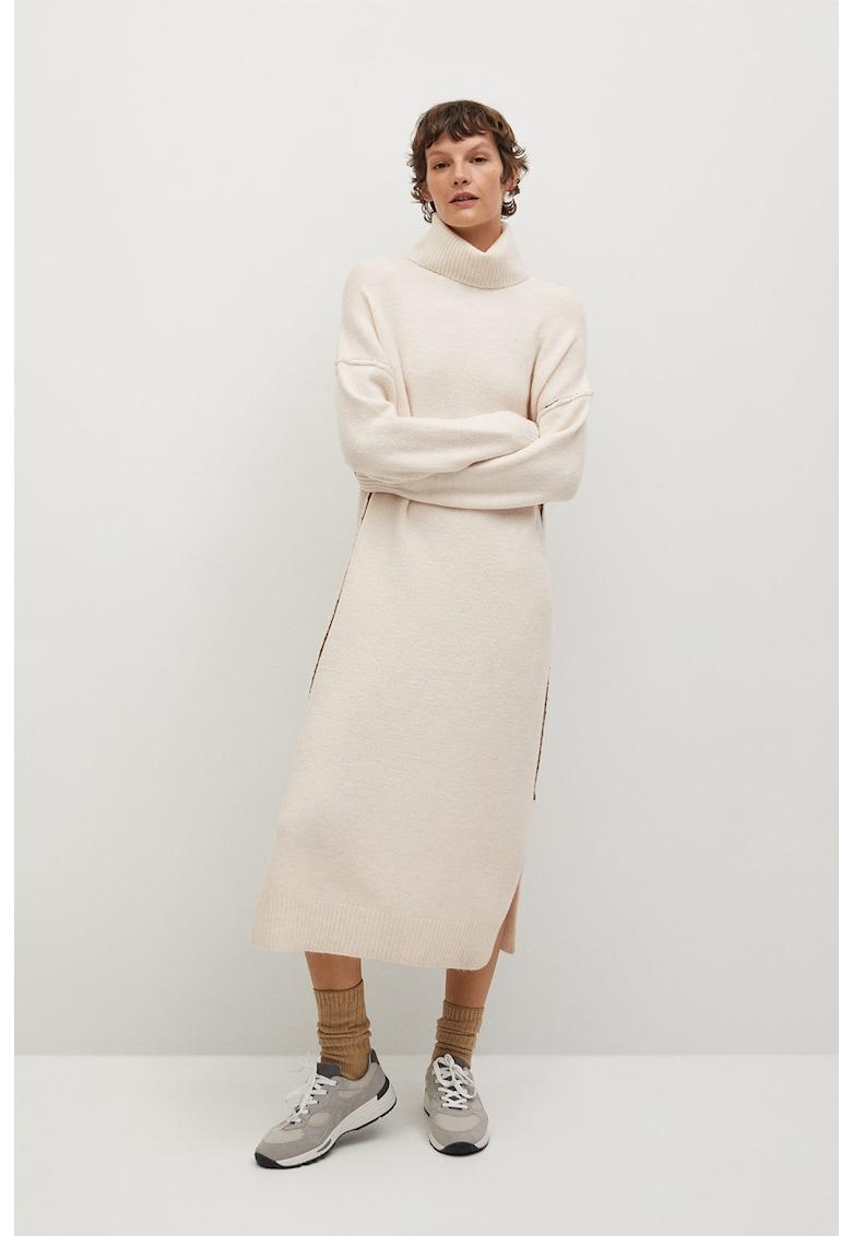 Rochie tip pulover cu slituri laterale Picasso