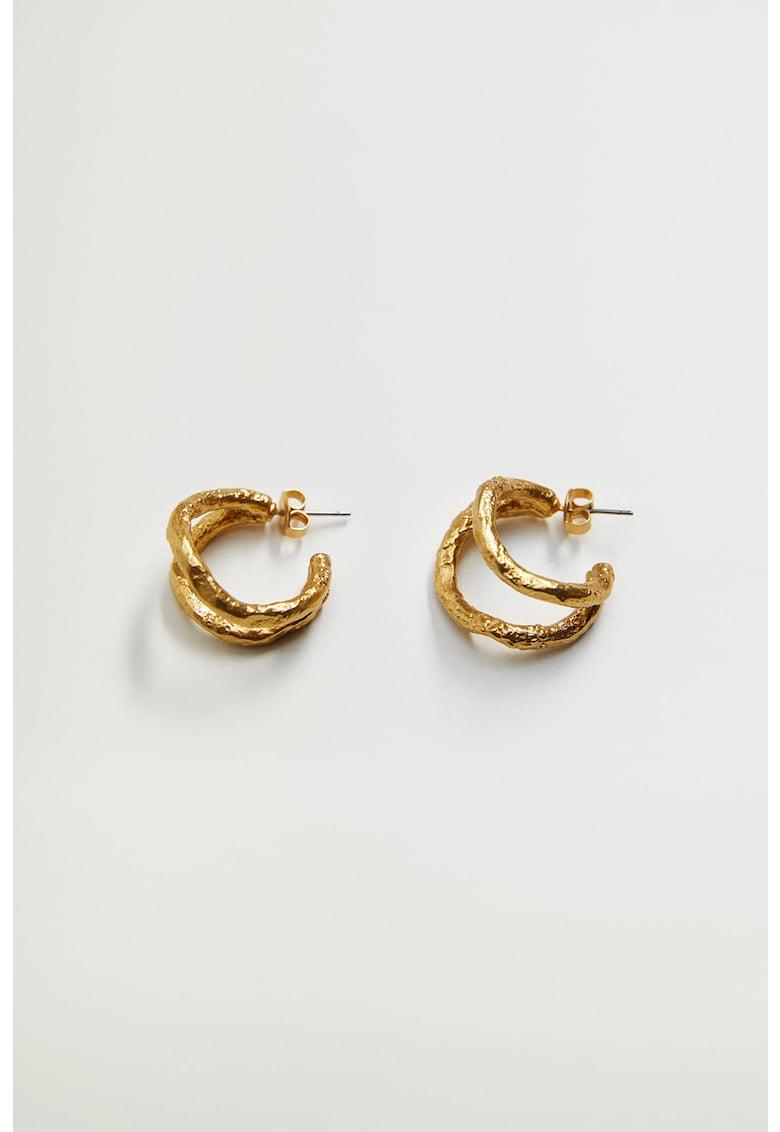 Cercei placati cu aur de 24K Darcy imagine promotie