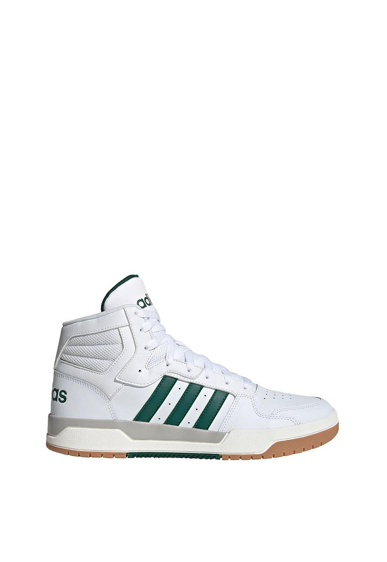 Pantofi mid-high din piele pentru baschet Entrap imagine