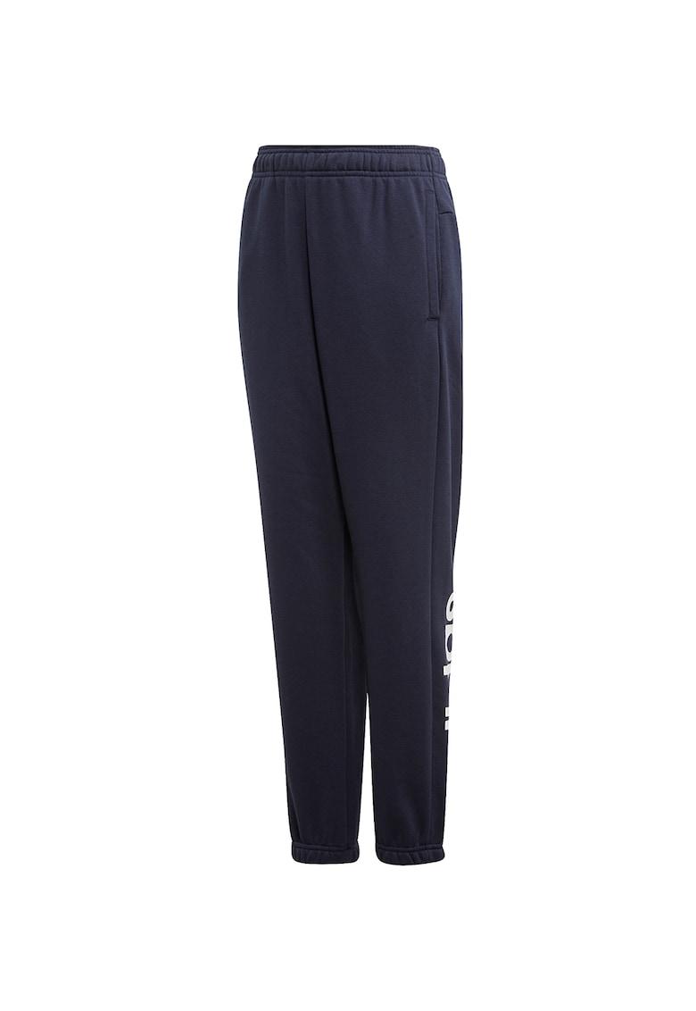 Pantaloni cu imprimeu logo pentru fitness Essentials Linear