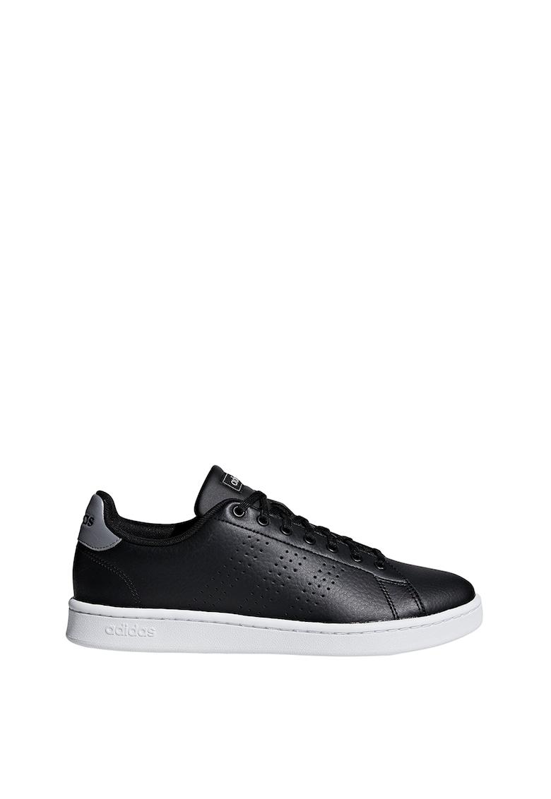 Pantofi din piele peliculizata pentru tenis Advantage