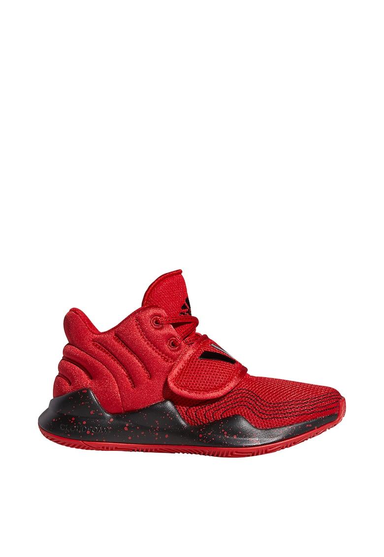 Pantofi mid-hi pentru baschet Deep Threat de la adidas Performance