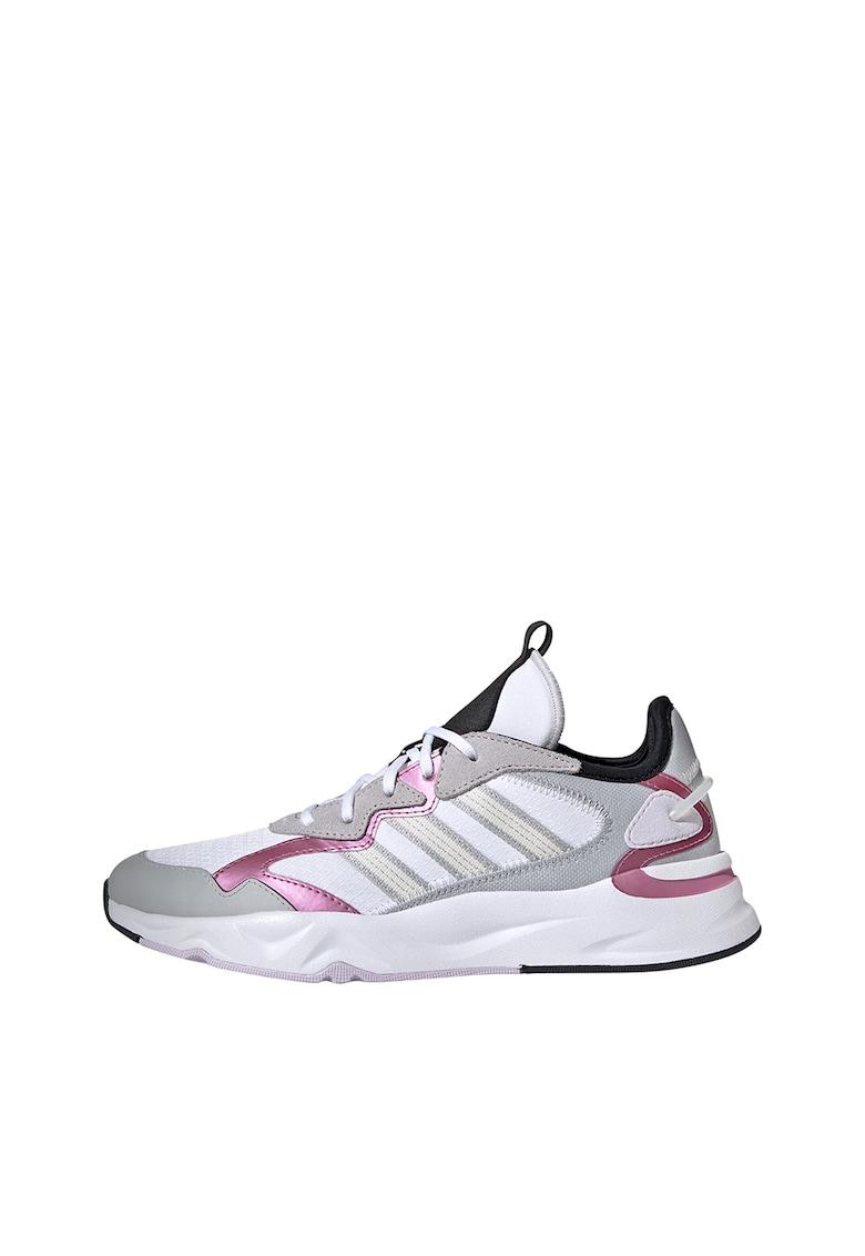 Pantofi cu garnituri de piele intoarsa - pentru alergare Future Flow