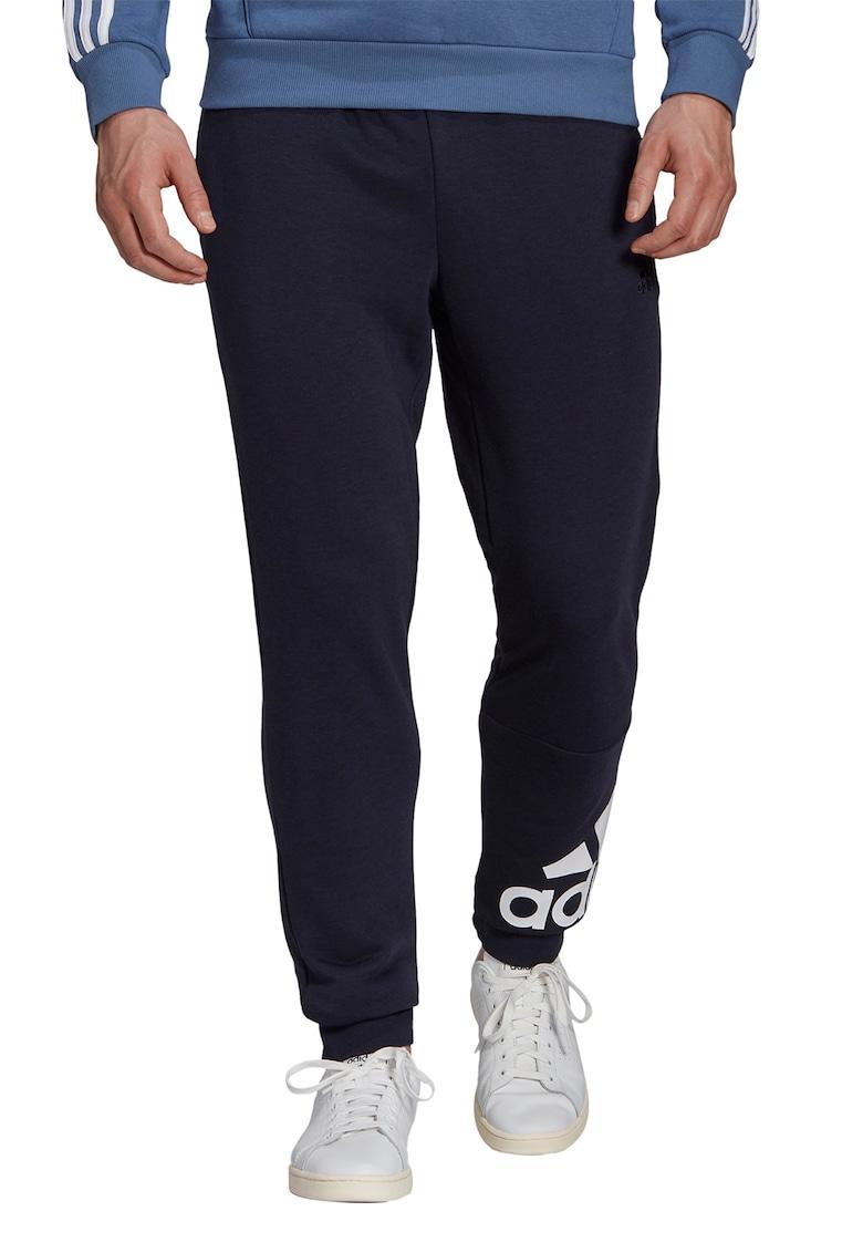 Pantaloni sport cu imprimeu logo - pentru antrenament imagine