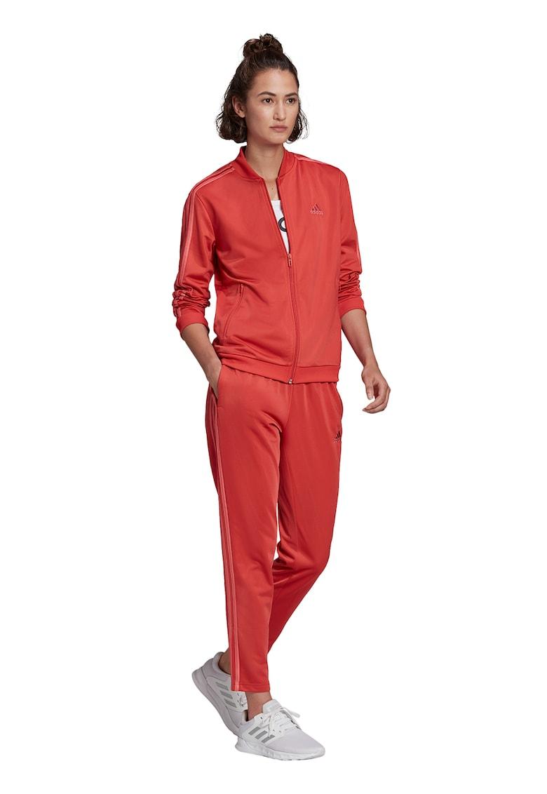 Pantaloni sport si bluza sport cu fermoar