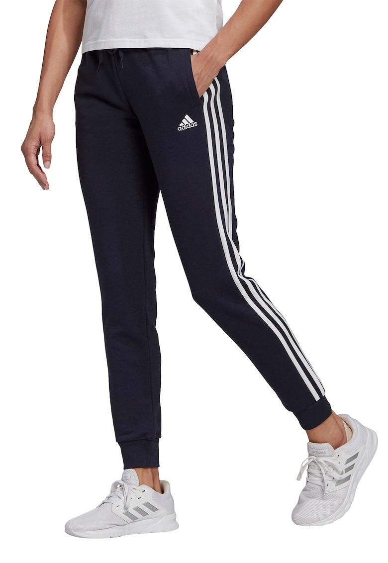 Pantaloni sport slim fit cu dungi emblematice - pentru fitness de la adidas Performance