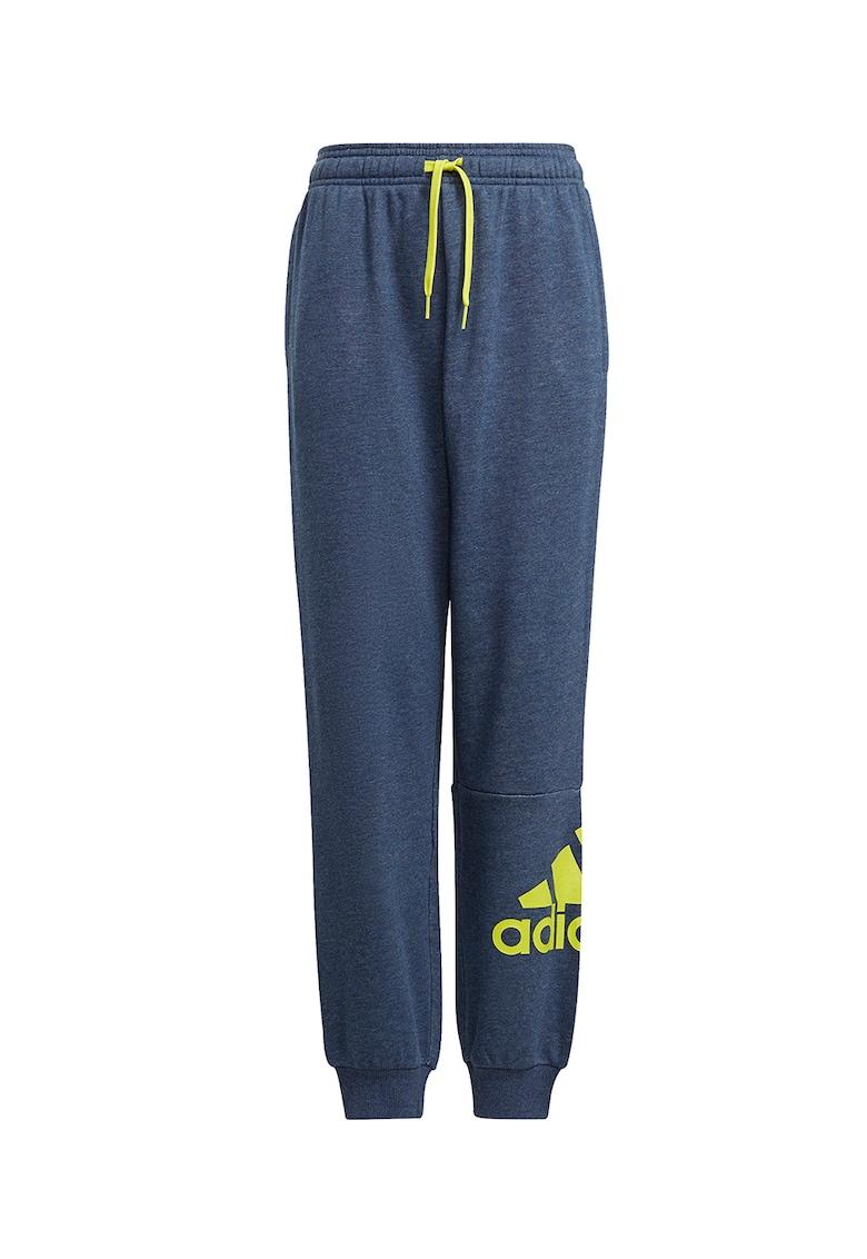 Pantaloni cu snur de ajustare pentru antrenament adidas Performance fashiondays.ro