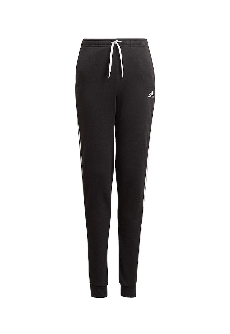Pantaloni cu dungi laterale contrastante pentru antrenament poza fashiondays