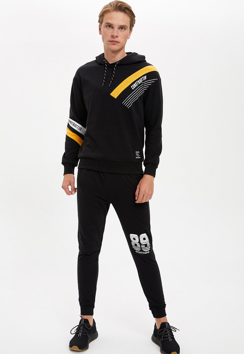 Pantaloni sport slim fit DeFacto imagine 2021