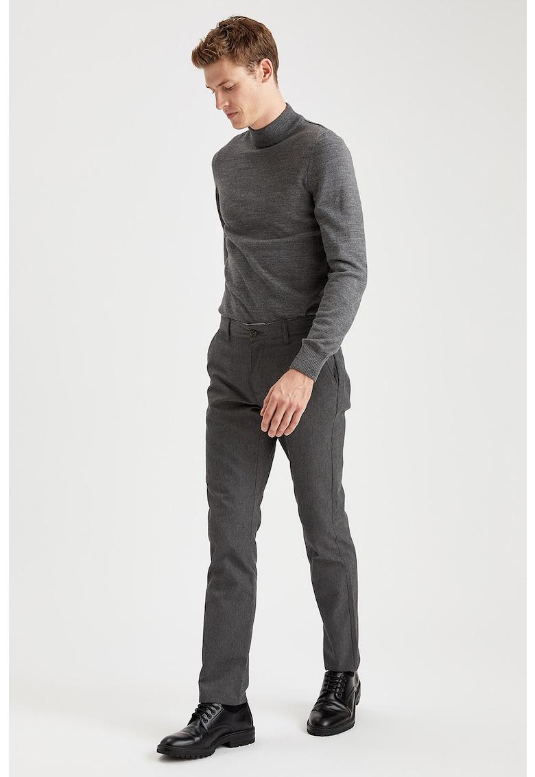 Pantaloni chino regular fit imagine fashiondays.ro
