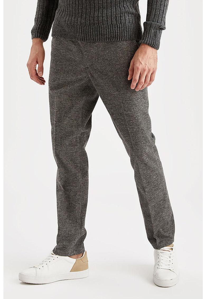 Pantaloni regular fit DeFacto imagine 2021