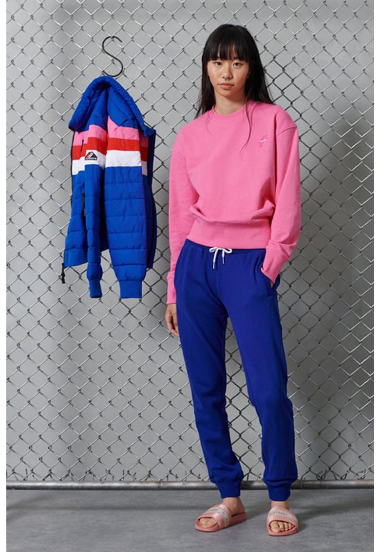 Bluza sport cu decolteu la baza gatului imagine