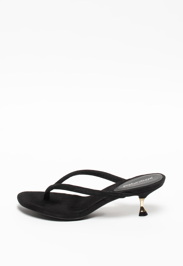 Papuci cu bareta separatoare de piele inntoarsa Olita imagine fashiondays.ro Jeffrey Campbell