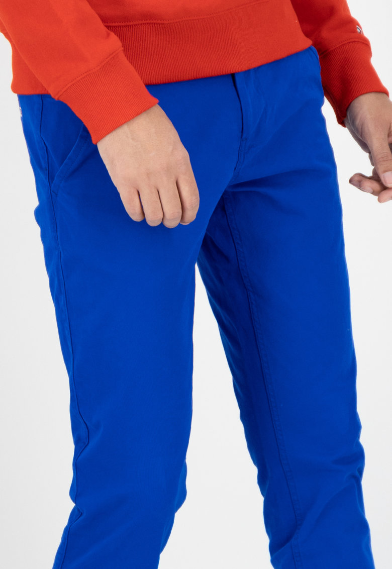 Pantaloni chino slim fit de bumbac organic Scanton