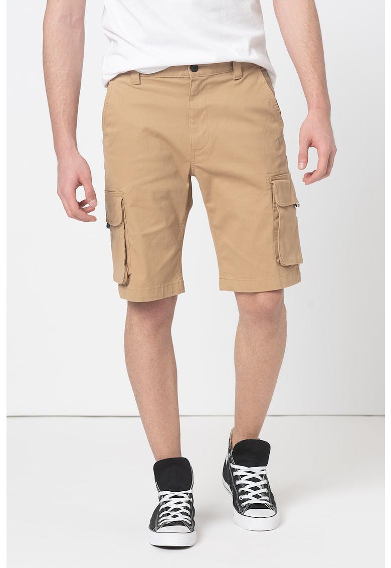 Pantaloni scurti cargo de bumbac organic