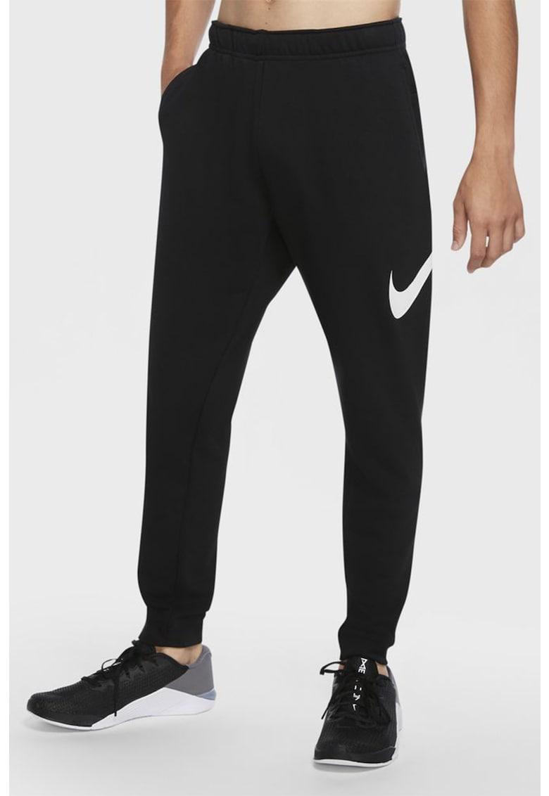 Pantaloni sport cu tehnologie Dri-Fit pentru fitness imagine fashiondays.ro 2021