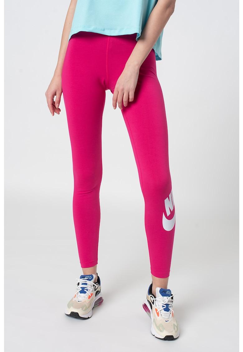 Colanti cu imprimeu logo pentru fitness Essential imagine fashiondays.ro Nike
