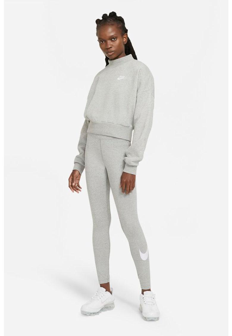 Colanti cu talie medie - pentru fitness Essential imagine fashiondays.ro Nike