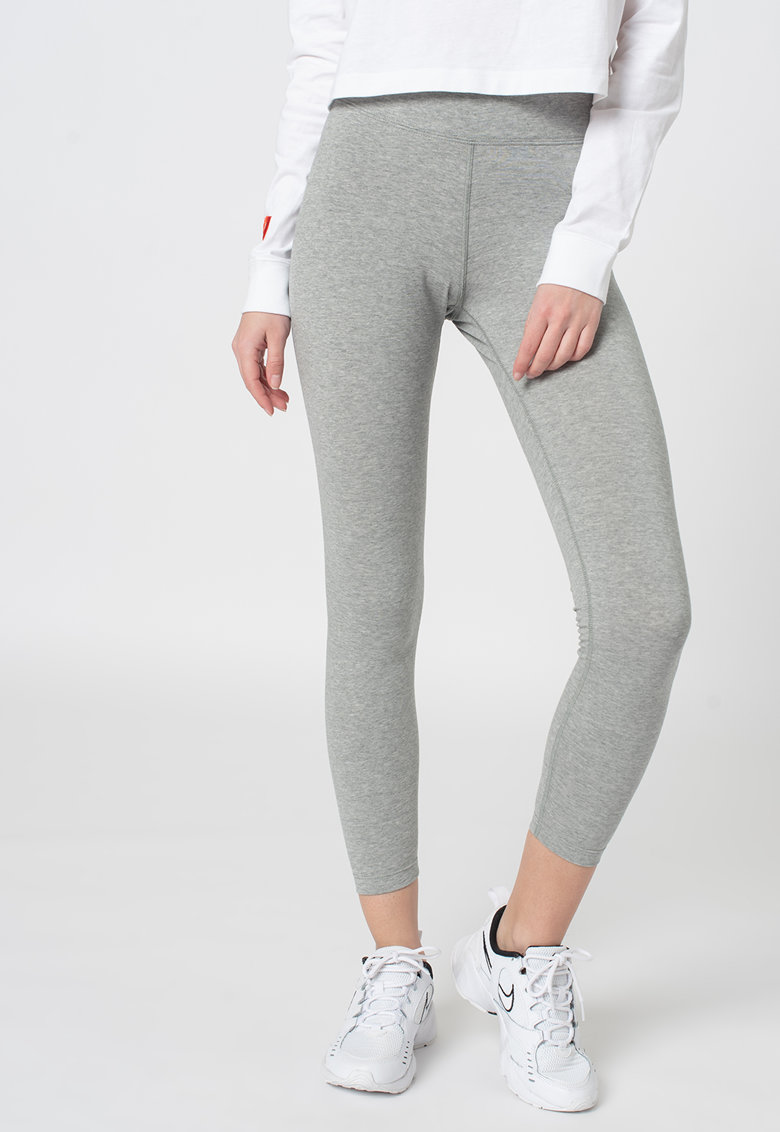 Colanti crop - pentru fitness Sportswear Essential imagine fashiondays.ro Nike