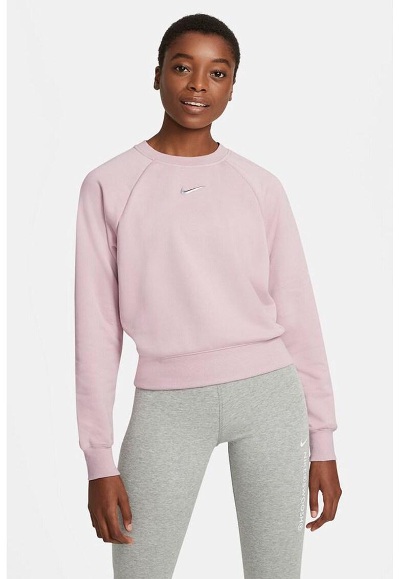 Bluza sport cu buzunar pe partea din spate Swoosh imagine fashiondays.ro Nike