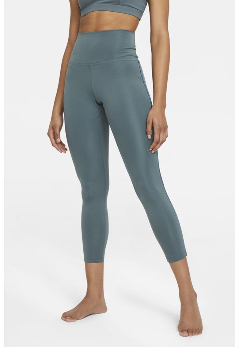 Colanti 7/8 cu tehnologie Dri Fit pentru yoga Novelty imagine fashiondays.ro Nike