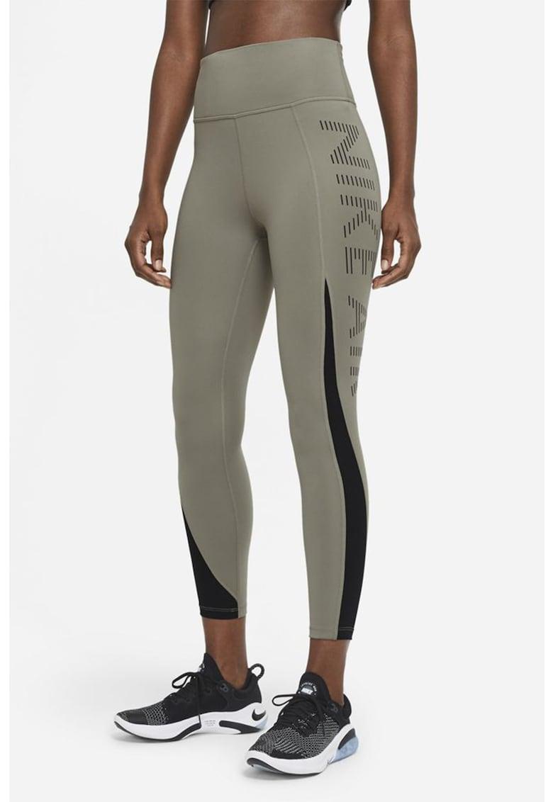 Colanti crop cu talie inalta pentru alergare Air Epic imagine fashiondays.ro Nike