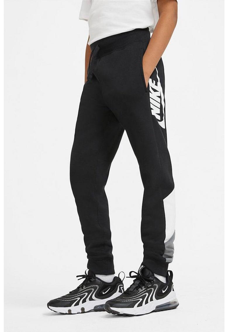 Pantaloni sport cu snur in talie NSW Core Amplify Nike fashiondays.ro