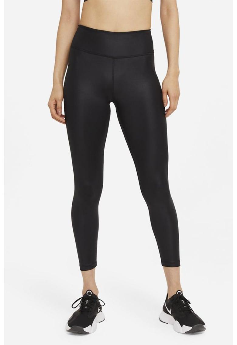 Colanti crop cu talie inalta pentru fitness imagine fashiondays.ro Nike