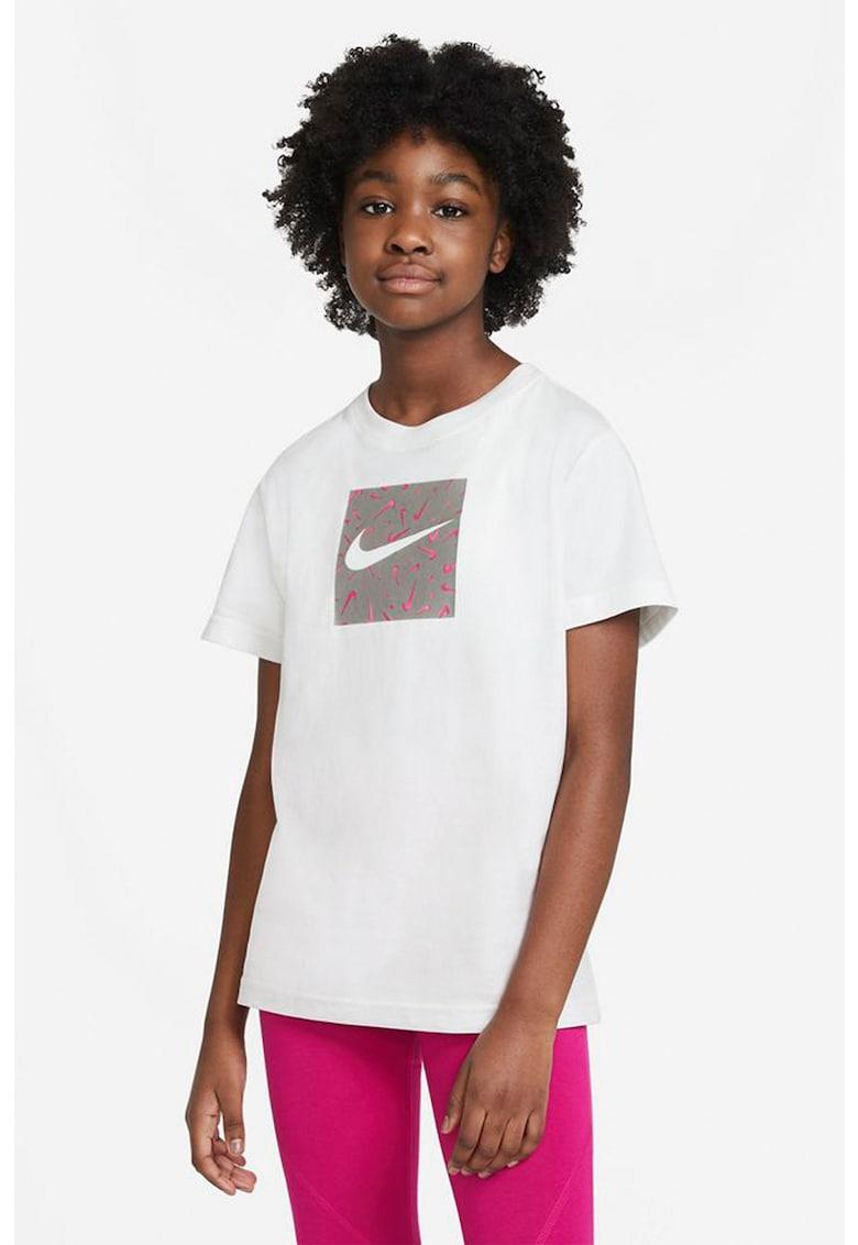 Tricou cu logo Swoosh Fetti imagine fashiondays.ro