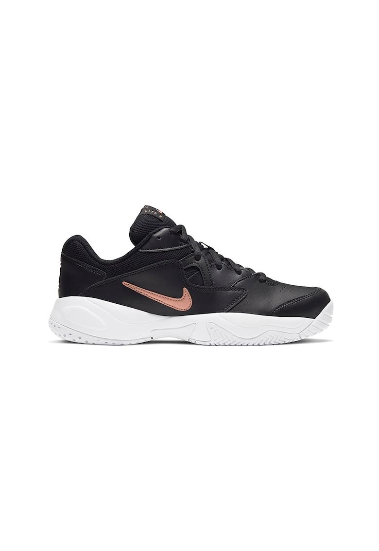 Pantofi de tenis cu garnituri de piele Court Lite 2 T poza fashiondays