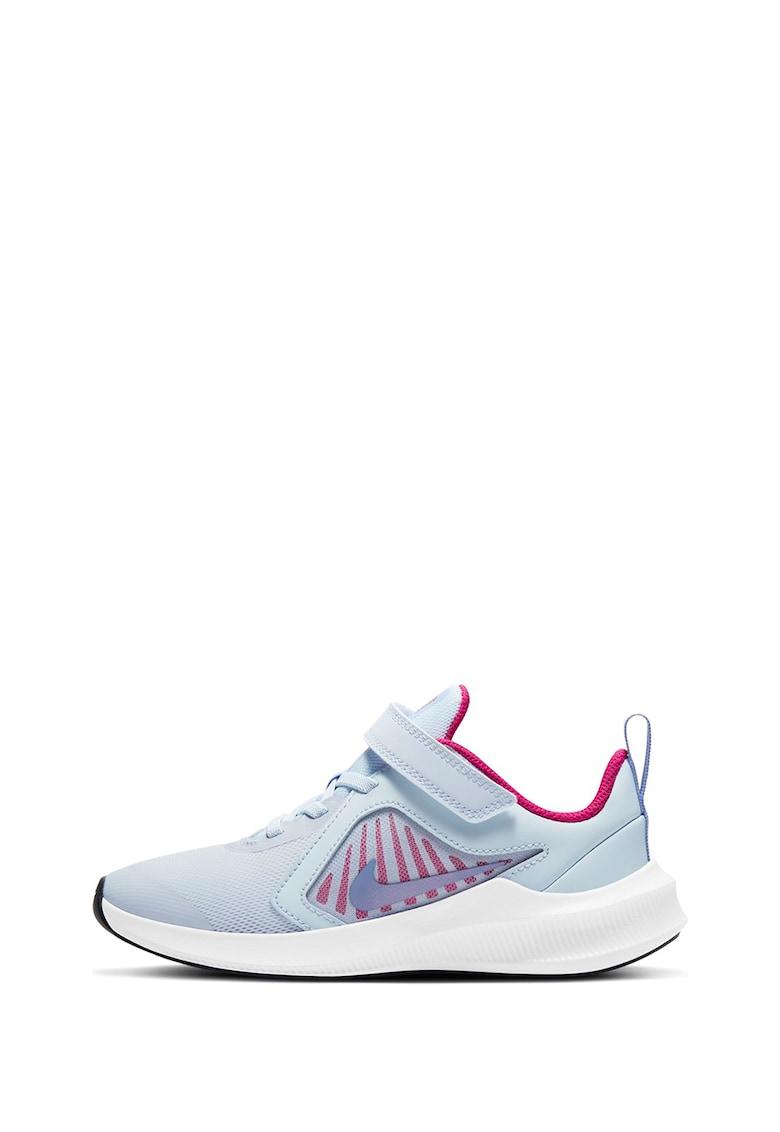 Pantofi sport de piele ecologica cu insertii de plasa Downshifter imagine promotie