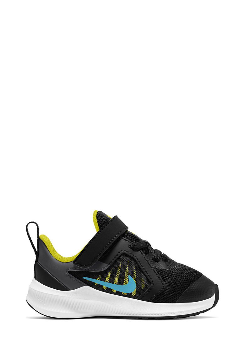 Pantofi sport cu insertii de plasa si banda velcro Downshifter