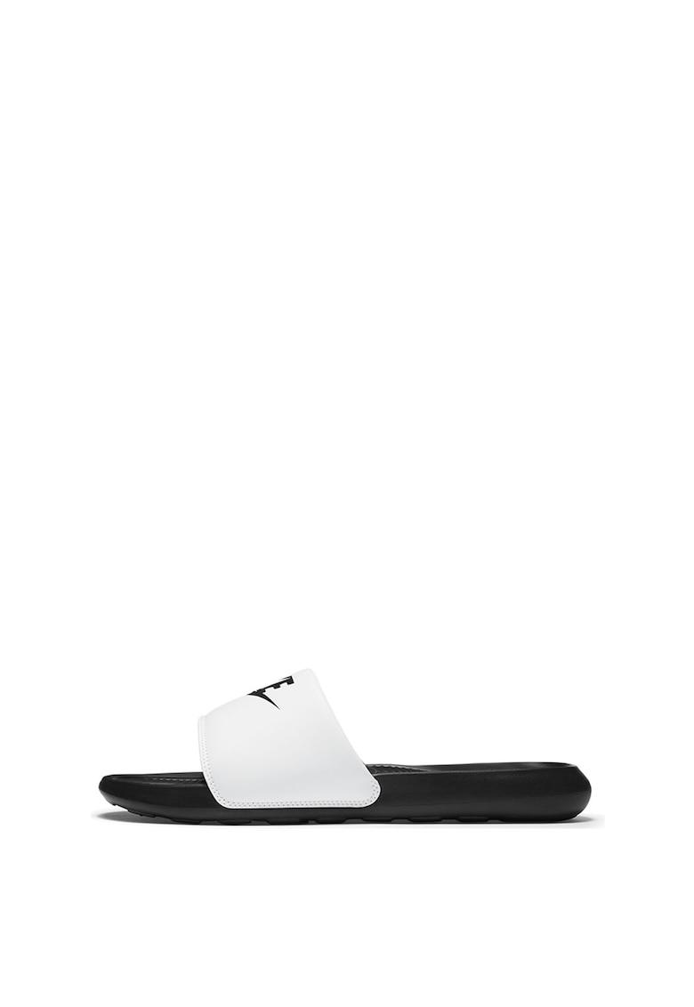 Papuci cu model logo Victori One imagine fashiondays.ro 2021