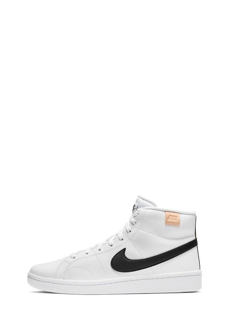 Pantofi sport mid-high de piele Court Royale 2 imagine promotie