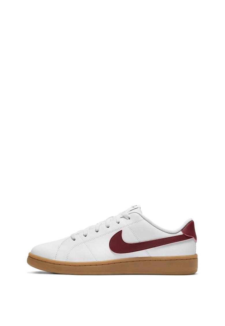 Pantofi sport de piele cu logo Court Royale 2 imagine promotie