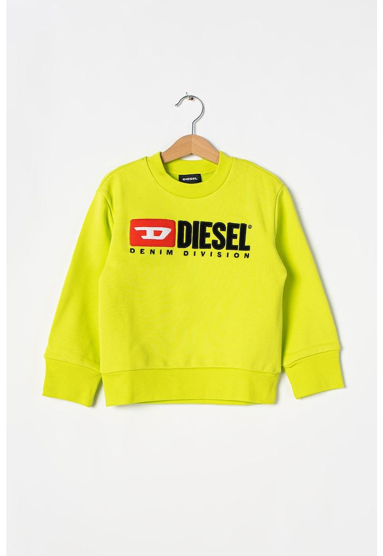 Bluza sport cu decolteu la baza gatului si logo Division imagine