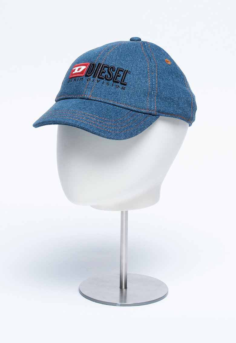 Sapca din denim cu logo Fnice poza fashiondays