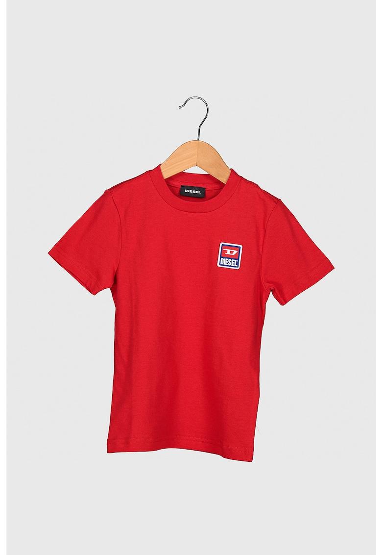 Tricou de bumbac si aplicatie logo imagine promotie