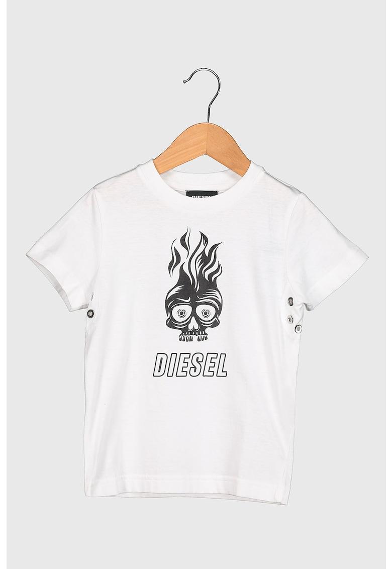 Tricou de bumbac cu imprimeu imagine promotie