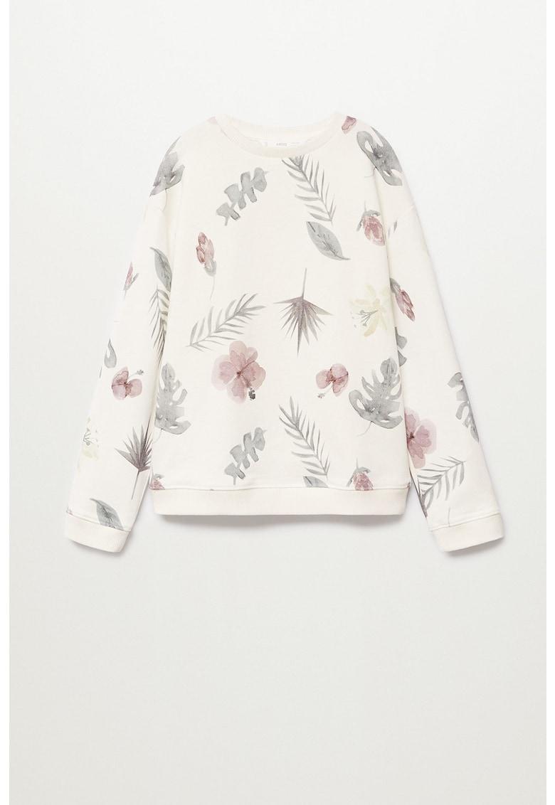 Bluza sport cu imprimeu tropical Garden