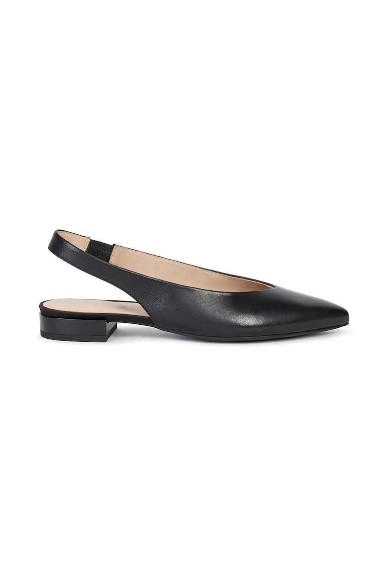 Pantofi slingback din piele