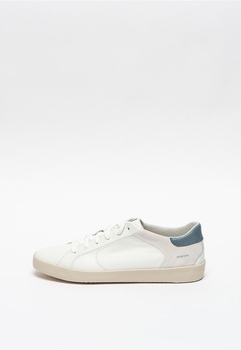 Pantofi sport din piele si material textil Warley imagine